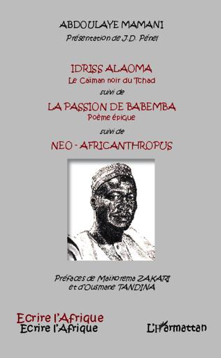 Couverture Idriss Alaoma Le Caïman noir du Tchad suivi de