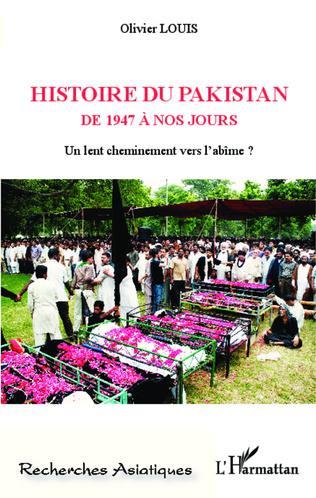 Couverture Histoire du Pakistan de 1947 à nos jours