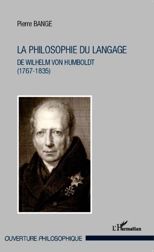 Couverture La philosophie du langage