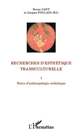 Couverture Recherches d'esthétique transculturelle