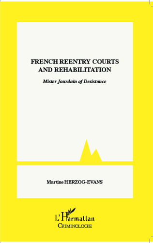 Couverture French reentry courts and rehabilitation