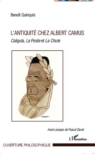 Couverture L'antiquité chez Albert Camus