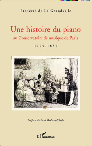 Couverture Une histoire du piano