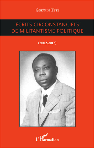 Couverture Ecrits circonstanciels de militantisme politique