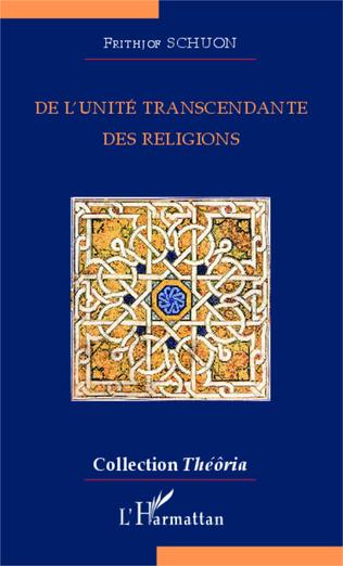 Couverture De l'unité transcendante des religions