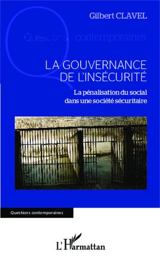 Couverture La gouvernance de l'insécurité