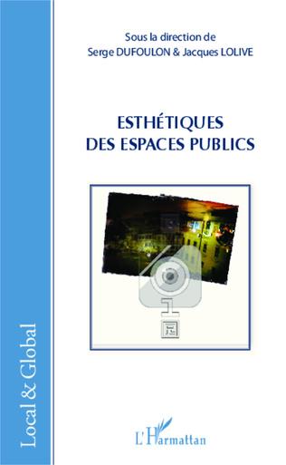 Couverture Esthetiques des espaces publics