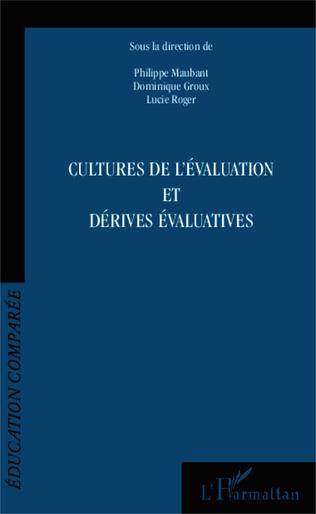 Couverture Cultures de l'évaluation et dérives évaluatives