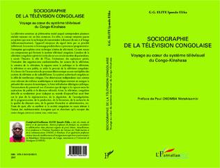 Couverture Sociographie de la télévision congolaise
