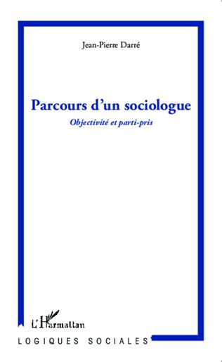 Couverture Parcours d'un sociologue