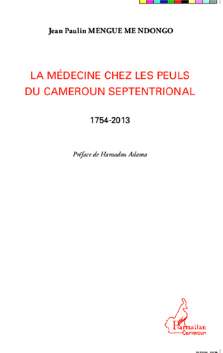 Couverture La médecine chez les Peuls du Cameroun septentrional