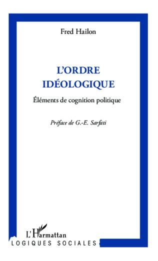 Couverture L'ordre idéologique