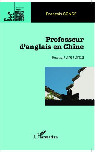 Couverture Professeur d'anglais en Chine