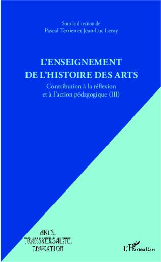 Couverture L'enseignement de l'Histoire des Arts