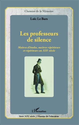 Couverture Professeurs de silence