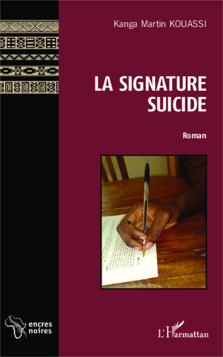 Couverture La signature suicide