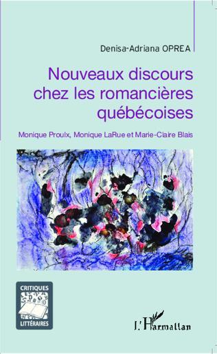 Couverture Nouveaux discours chez les romancières québécoises