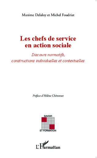 Couverture Les chefs de service en action sociale