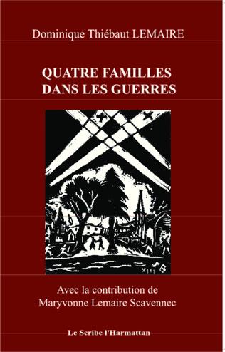 Couverture Quatre familles dans les guerres