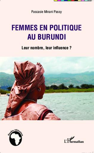 Couverture Femmes en politique au Burundi