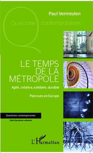 Couverture Le temps de la métropole
