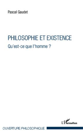 Couverture Philosophie et existence