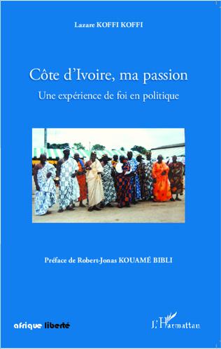 Couverture Côte d'Ivoire, ma passion
