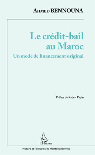 Couverture Le crédit-bail au Maroc