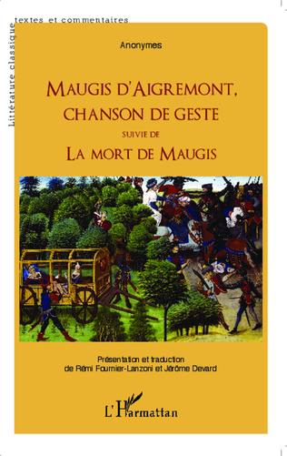 Couverture Maugis d'Aigremont, chanson de geste