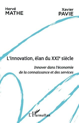 Couverture L'innovation, élan du XXIe siècle