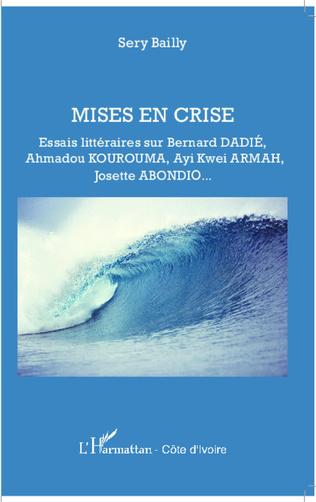 Couverture Mises en crise