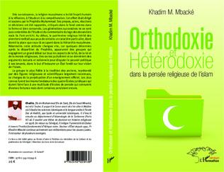 Couverture Orthodoxie et hétérodoxie dans la pensée religieuse de l'islam