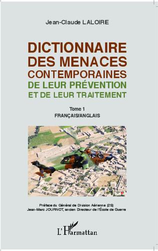 Couverture Dictionnaire des menaces contemporaines