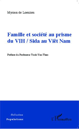 Couverture Famille et société au prisme du VIH / Sida au Viêt Nam
