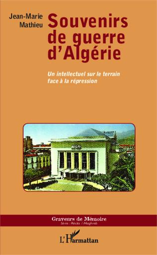 Couverture Souvenirs de guerre d'Algérie