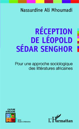 Couverture Réception de Léopold Sédar Senghor