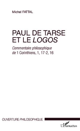 Couverture Paul de Tarse et le logos