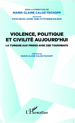 Couverture Violence, politique et civilité aujourd'hui