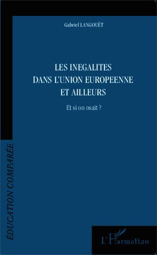 Couverture Les inégalités dans l'Union Européenne et ailleurs
