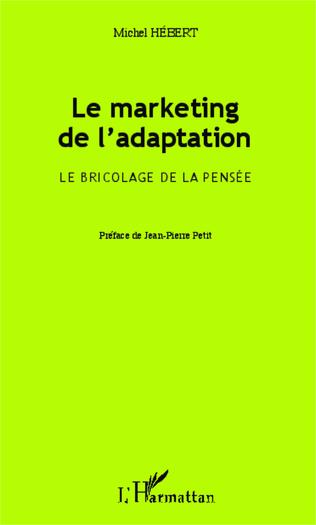 Couverture Le marketing de l'adaptation
