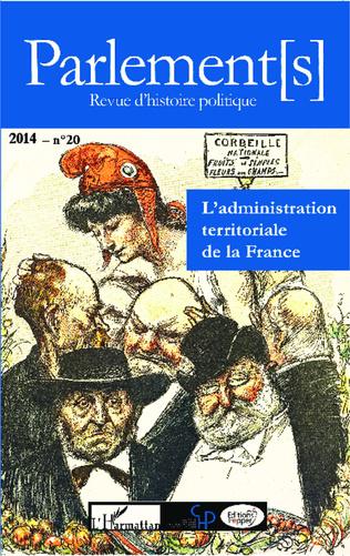 Couverture L'administration territoriale de la France