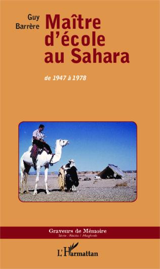 Couverture Maître d'école au Sahara