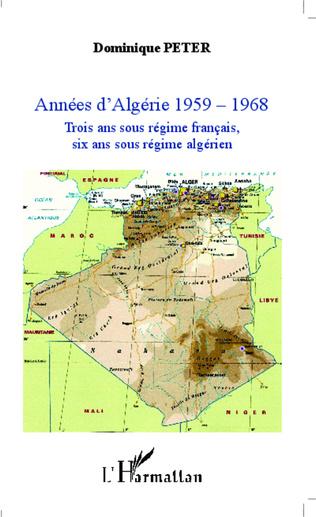 Couverture Années d'Algérie 1959-1968