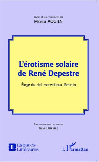 Couverture L'érotisme solaire de René Depestre