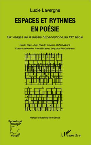 Couverture Espaces et rythmes en poésie