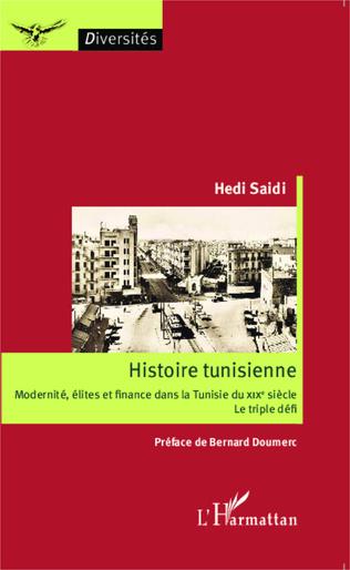 Couverture Histoire tunisienne