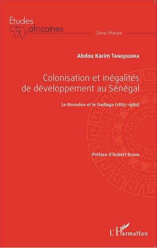 Couverture Colonisation et inégalités au Sénégal