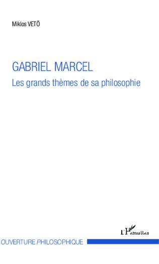 Couverture Gabriel Marcel