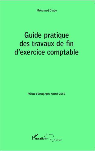 Couverture Guide pratique des travaux de fin d'exercice comptable
