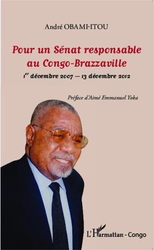 Couverture Pour un Sénat responsable au Congo-Brazzaville